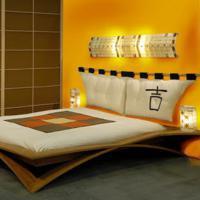 gele slaapkamer ontwerpen., Deco ideeën