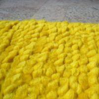 Gele vloerbedekking voor de slaapkamer