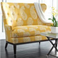 Gele meubels